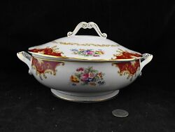 Royal Albert Canterbury Covered Serving Bowl With Lid Stunning