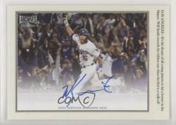 2020 Topps Archives Snapshots Walkoff Wires Color Image /25 Will Smith Auto