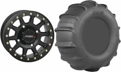 Mounted Wheel And Tire Kit Wheel 15x10 5+5 4/137 Tire 30x15-15 6 Ply