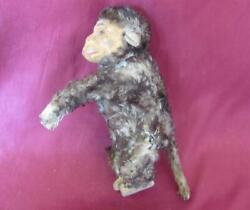 1920s Antique German Mechanical Wind Up Monkey Toy Very Rare