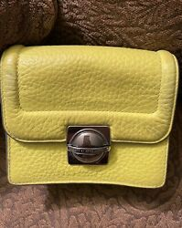MARC By Marc Jacobs Bright Yellow Leather Crossbody $42.00