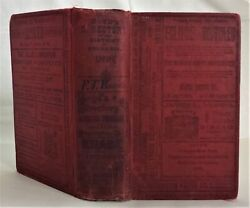 1898 Antique Boyd's Directory Washington Dc Genealogy Ads Occupations 1,882pgs
