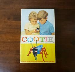 1949 The Game Of Cootie Schaper 200 With Extra Pieces
