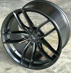 Staggered Rims 22 Inch Wheels For 2013 2014 2015 Camaro Ls Lt Rs Ss Only -5730