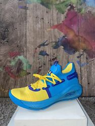 Under Armour Curry 6 Pe Family Business All Star Blue 3020612-310 Men's Sz 8