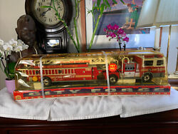 Factory Sealed Funrise Vintage 1992 Metro City Fire Department 27 Ladder Truck
