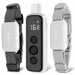 Dog Shock Collar With Remote 2 Dogs Training Collar Rechargeable Waterproof Dog