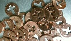 100 Cross Pennyand039s Pennies For Christian Ministries 1958 To 2020
