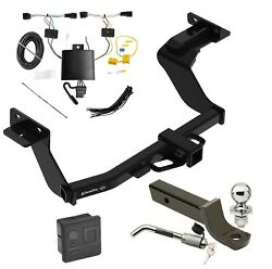 Trailer Tow Hitch For 2021 Kia Sorento Deluxe Package Wiring 2 Ball Mount Lock