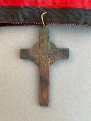 Imperial Russian Cross For The Clergy In Memory Of The Patriotic War Of 1812.