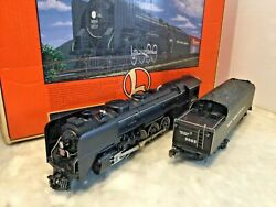 Lionel 6-18064 New York Cental L-3a Mohawk 4-8-2 Steam Locomotive And Tender In Ob