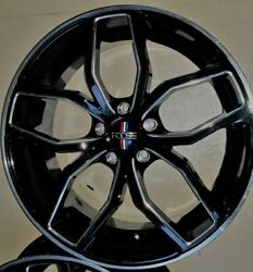 Staggered Rims 20 Inch Wheels For 2013 2014 2015 Camaro Ls Lt Rs Ss Only -5716