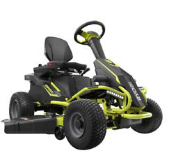 Ryobi 38 Rm480ex 100ah Battery Electric Riding Lawn Mower - New Scratch And Dent