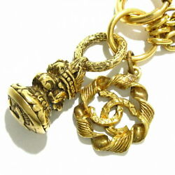 Sale Previously Owned Necklace Series Gold Metal Material No.5768