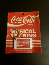 ☆coca-cola Musical Key Chain By Potomac Products Vintage 1990 New Sealed