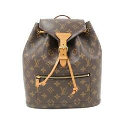 Sale Louis Vuitton Monogram Monsley M43431 Previously Owned No.9798