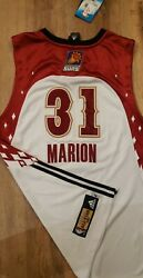 Shawn Marion Authentic Pro Cut Autographed All-star Phoenix Suns Jersey Rare