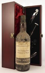 1950and039s Old Vintage Port Matured In Wood 1950and039s Wine Society