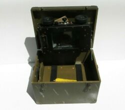 Ww2 Us Army Air Force Military Astrograph Type A-1 W/ Case Navigational Instrum