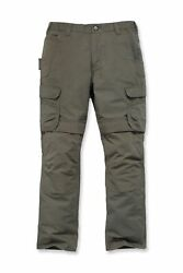 Menand039s Carghose Steel Cargo Trousers Waistband Pants Wide 30 To 42