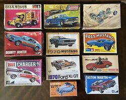 Vintage Model Car Kits From The 60andrsquos And 70andrsquos - Mpc Palmer Amt Monogram Aurora