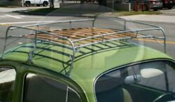 Silver Frame Roof Rack, Compatible With Type 1 Bug 1949-1977, Super Bug 1971-77