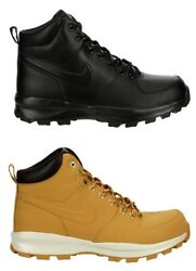 Nike Manoa Menand039s Work Boots Shoes Water Resistant