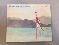 Hrh The Of Wales Watercolours Signed 1st Edition 1991 Little Brown Rare