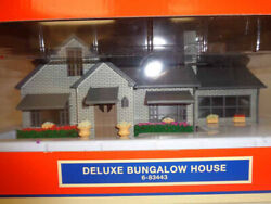 ✅lionel Deluxe Bungalow House Accessory 6-83443 O Gauge Train Lighted Building