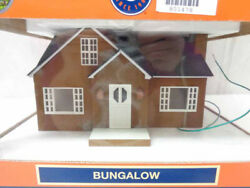 ✅lionel Bungalow House Accessory 6-34121 O Gauge Train Lighted Building