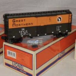 ✅lionel Freightsounds Great Northern Ps-1 Box Car 1926630 Freight Sounds O Scale