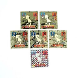 Pokemon Amada Sticker Vintage Set Of 6 Mew 3types Collection Goods From Jp I9336