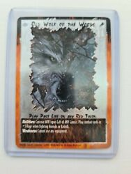 Old Wolf Of The Woods Past Life Foil - Rage Ccg.mint Condition