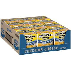 Maruchan Instant Lunch Cheddar Cheese Ramen Noodle Soup Cup For Family Meals