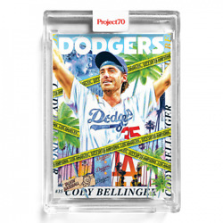 Topps Project70andreg Card 229 - 1986 Cody Bellinger By Tyson Beck - Presale 229