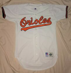 Authentic Mlb Jersey Baltimore Orioles Vintage Russell Athletic Blank Home Rare
