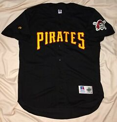 Authentic Mlb Jersey Pittsburgh Pirates Vintage Russell Athletics Alt Blank Vtg