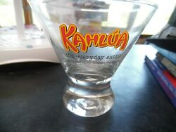 Vintage Kahlua The Everyday Exotic Cocktail Glass