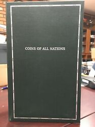 Coins Of All Nations Collection Set. Worldwide Coin And Stamp Sets