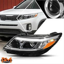 For 14-15 Sorento Ex/sx Led Drl Projector Headlight/lamp Assembly Driver Side