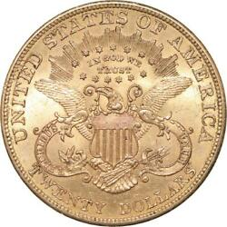Aa831 Rare United States 20 Dollars Liberty Head 1904 Or Gold Unc - Make Offer