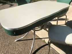 Vintage Formica Table And Chairs
