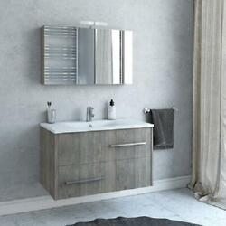 Thalia - 36 Floating Vanity With Integrated Porcelain Sink