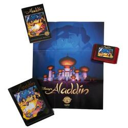 Aladdin Sega Genesis Legacy Cartridge Collection Playable Red Or Purple Official