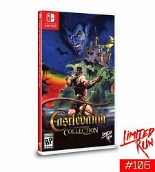Limited Run 106 Castlevania Anniversary Collection Switch Presale