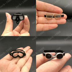 1/6 Scale Wwii Pilot Goggles Model Blinkers Model Hot For 12 Action Figure