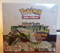 Pokemon Tcg Sun And Moon Celestial Storm 36-pack Booster Box Factory Sealed