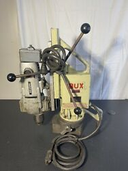 Bux Magnetic Drill Base Model Dh 3/4 Rp 110 Volt Porter Cable Motor