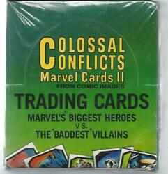 Marvel Colossal Conflicts - Factory Sealed Box 1987 - Comic Images