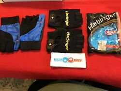 Harbinger Xxl Weight Lifting Training Gloves And Multi Grip Gloves 2 Pair